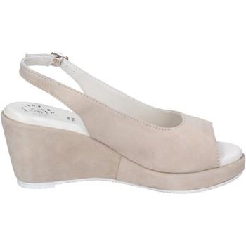 Zapatos Mujer Sandalias Adriana Del Nista BJ03 Beige