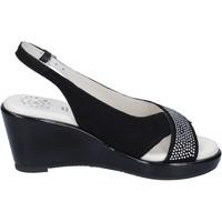 Zapatos Mujer Sandalias Adriana Del Nista BJ04 Negro