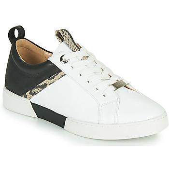Zapatos Mujer Zapatillas bajas JB Martin GELATO Blanco / Negro