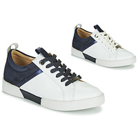 Zapatos Mujer Zapatillas bajas JB Martin GELATO Blanco / Marino