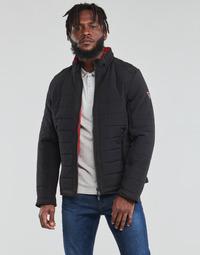 textil Hombre Plumas Guess  Negro / Naranja