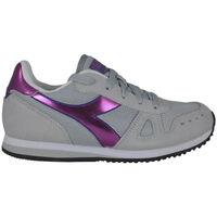 Zapatos Niña Running / trail Diadora simple run gs girl 65010 Rosa