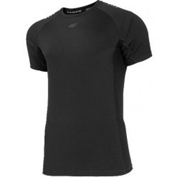 textil Hombre Camisetas manga corta 4F Mens Functional T-shirt negro