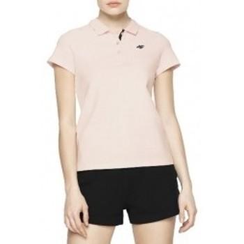 textil Mujer Polos manga corta 4F Womens T-shirt rosa