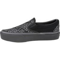 Zapatos Mujer Slip on Vans 66 Classic Slip-On Platform negro