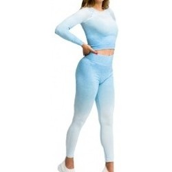 textil Mujer Conjuntos chándal Gymhero Ombre Rushguard azul
