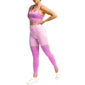 textil Mujer Leggings Gymhero Leggins Stripes violeta