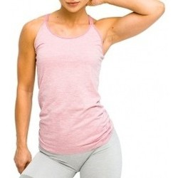 textil Mujer Tops / Blusas Gymhero L.A Classic Basic Tee violeta