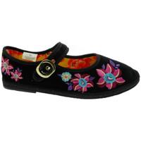 Zapatos Mujer Pantuflas De Fonseca DEFONFRIUPAPFIORIner nero