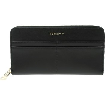 Bolsos Mujer Cartera Tommy Hilfiger Iconic Tommy Negros