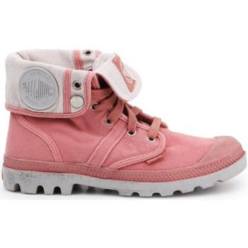 Zapatos Mujer Derbie & Richelieu Palladium Manufacture Pallabrouse Baggy Rosa