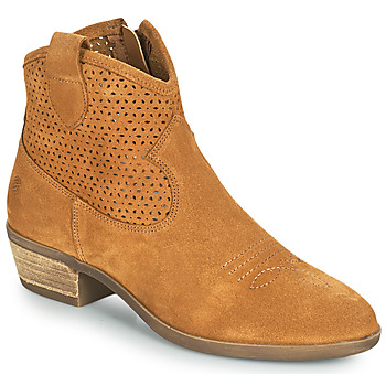 Zapatos Mujer Botas de caña baja Betty London OGEMMA Cognac