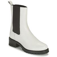 Zapatos Mujer Botas de caña baja Betty London OLANDI Blanco
