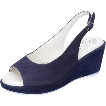 Zapatos Mujer Sandalias Adriana Del Nista BJ06 Azul