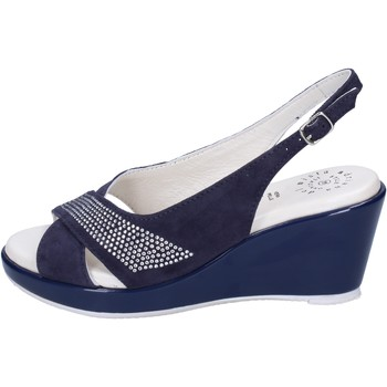 Zapatos Mujer Sandalias Adriana Del Nista BJ08 Azul
