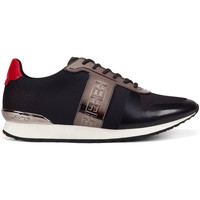 Zapatos Deportivas Moda Ed Hardy Mono runner-metallic black/gunmetal Negro
