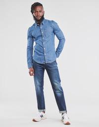 textil Hombre Vaqueros rectos Levi's 502 TAPER Azul