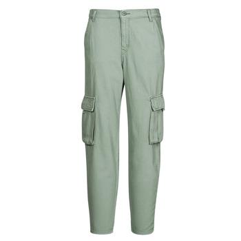 textil Mujer Pantalón cargo Levi's LOOSE CARGO Gris / Verde