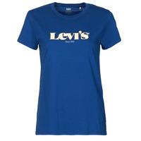 textil Mujer Camisetas manga corta Levi's THE PERFECT TEE Azul