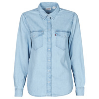 textil Mujer Camisas Levi's ESSENTIAL WESTERN Azul