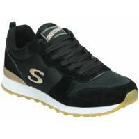 Zapatos Mujer Zapatillas bajas Skechers OG 85 - GOLDN GURL  111-BLK Negro