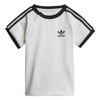 textil Niños Camisetas manga corta adidas Originals DV2824 Blanco