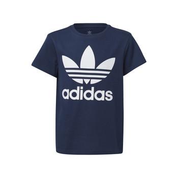 textil Niños Camisetas manga corta adidas Originals GD2679 Azul