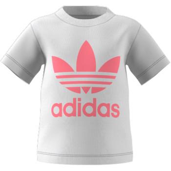 textil Niños Camisetas manga corta adidas Originals GN8175 Blanco