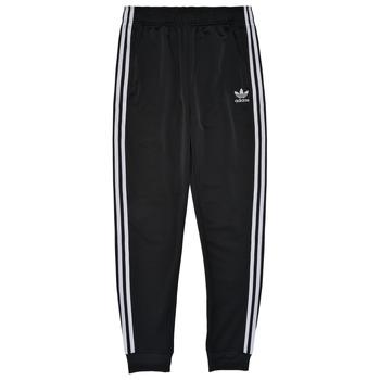 textil Niños Pantalones de chándal adidas Originals GIANNY Negro