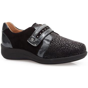 Zapatos Mujer Derbie & Richelieu Calzamedi S  ELÁSTICO ESPECIAL JUANETES 0748 NEGRO