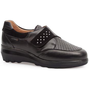 Zapatos Mujer Derbie & Richelieu Calzamedi S  ELÁSTICO 0745 NEGRO