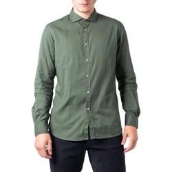textil Hombre Camisas manga larga Hydra Clothing BU21W04CA Verde