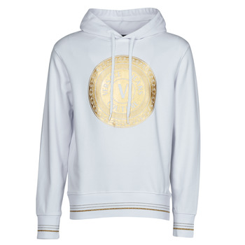 textil Hombre Sudaderas Versace Jeans Couture SOXA Blanco / Oro