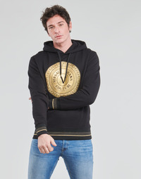 textil Hombre Sudaderas Versace Jeans Couture SOXA Negro / Oro