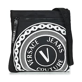 Bolsos Hombre Bolso pequeño / Cartera Versace Jeans Couture SOLEDA Negro / Blanco