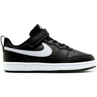 Zapatos Niños Zapatillas bajas Nike Court Borough Low 2 Psv Negros