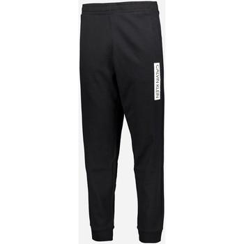textil Hombre Pantalones de chándal Calvin Klein Jeans 00GMT0P706 Negro