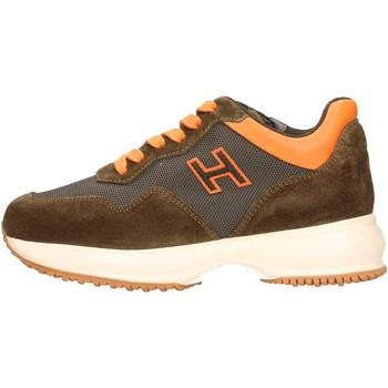 Zapatos Niño Zapatillas bajas Hogan - Interactive h marrone HXC00N0V310JYCT02Z MARRONE