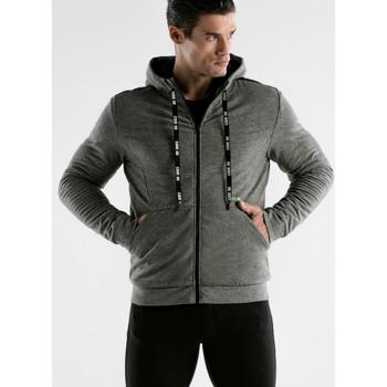 textil Hombre Chaquetas de deporte Code 22 Core Code22 Chaqueta deportiva con capucha Gris Claro