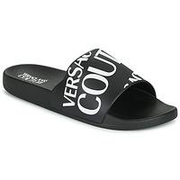 Zapatos Hombre Chanclas Versace Jeans Couture TENNIA Negro / Blanco