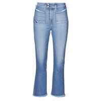 textil Mujer Vaqueros bootcut Diesel D-EARLIE-H Azul