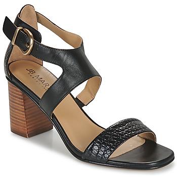 Zapatos Niña Sandalias JB Martin 1NAWELI Negro / Gris