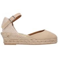 Zapatos Mujer Alpargatas Fernandez 682 3C Beig 8A Mujer Beige beige