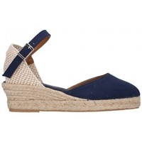 Zapatos Mujer Alpargatas Fernandez 682 3C marino Mujer Azul marino bleu