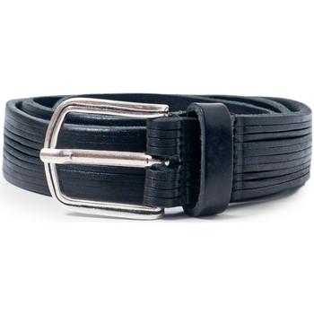 Accesorios textil Hombre Cinturones Hydra Clothing PLM07 Nero
