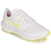 Zapatos Mujer Running / trail Nike AIR ZOOM PEGASUS 37 Blanco / Amarillo