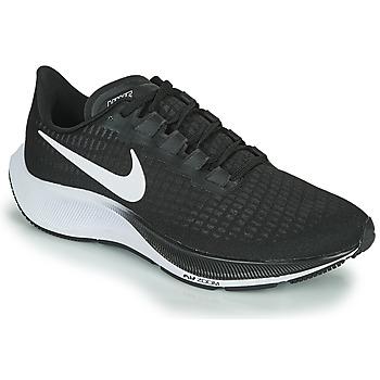 Zapatos Hombre Running / trail Nike AIR ZOOM PEGASUS 37 Negro / Blanco