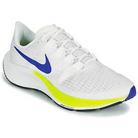 Zapatos Hombre Running / trail Nike AIR ZOOM PEGASUS 37 Blanco / Azul / Amarillo