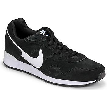 Zapatos Hombre Zapatillas bajas Nike VENTURE RUNNER SUEDE Negro / Blanco