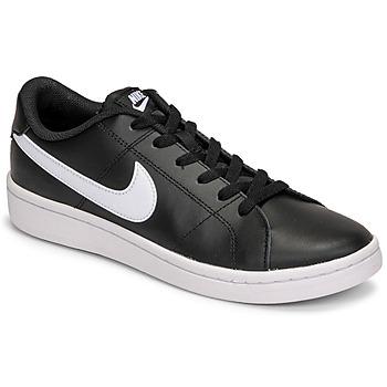 Zapatos Hombre Zapatillas bajas Nike COURT ROYALE 2 LOW Negro / Blanco